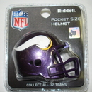 Creative Sports Minnesota Vikings Riddell Revolution Pocket Pro Football Helmet