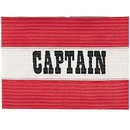 Cannon Sports 49207 Red Captain Soccer Arm Band