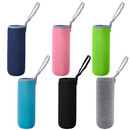 Aspire 6 Pcs Glass Water Bottle Sleeves 18 oz - 19 oz Insulated Drink Bottle Covers Carrier Sleeve