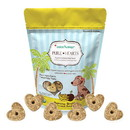 CocoTherapy CTT-0019 Pure Hearts Coconut Cookies - Banana Brulee, 5 oz (12/case)
