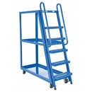 Charnstrom 1122 Steel Tall Ladder Stock Picker Truck 50-3/4
