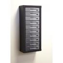 Charnstrom 6170C Combination Locks - 10 Door Wall Mount Cell Phone, Smart Phone Cabinet - 5