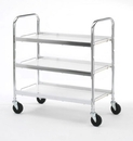 Charnstrom B105 Three Shelf Utility Cart