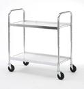 Charnstrom B106 Medium Two Shelf Utility Cart
