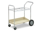 Charnstrom B107 Medium Frame Cart with Lower Metal Shelf