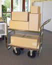 Charnstrom B109 Long, Heavy Duty Industrial Package Cart