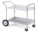 Charnstrom B113 Long, Two Shelf Mobile Bin Cart
