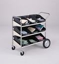 Charnstrom B173 Three Shelf Mobile Bin Cart
