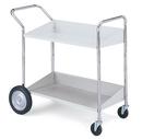 Charnstrom B176 Two Shelf Mobile Bin Cart