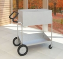 Charnstrom B233E Medium Metal Cart with 10