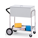 Charnstrom B233 Medium Metal Cart with 10