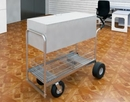 Charnstrom B246E Long Solid Metal Cart with 8