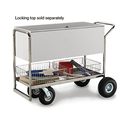 Charnstrom B246 Long Solid Metal Cart with 8