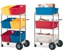 Charnstrom B274 Three Shelf Mobile Bin Cart (Cart only)