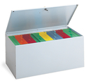 Charnstrom B279 Grey Locking File Box