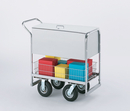 Charnstrom B280 Security Medium Metal Cart with 3 Different Wheel Options.