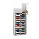 Charnstrom D145YL Mailroom Security Roll Down Tambour Door Sorters and Secure Office Organizers - 28