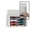 Charnstrom D146YL Mailroom Security Sorters and Secure Office Organizers - 28