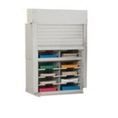 Charnstrom D147YL Mailroom Security Sorters and Secure Office Organizers - 28