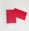 Charnstrom L102 Red Paper Inserts (for Model L10 and L22 Plastic Shelf Labels)