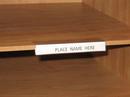 Charnstrom L14 Adhesive Backed, Multi Purpose Plastic Shelf I.D. Label