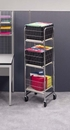 Charnstrom M017 Tall Compact Office Cart