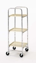 Charnstrom M018 Triple tier Compact Office Cart Frame