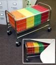 Charnstrom M025 Long Roll Away Basket Cart