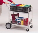 Charnstrom M106 Medium Wire Basket Mail Cart
