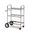 Charnstrom M270 Medium. Triple-Decker Mail Cart Frame