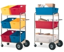 Charnstrom M274 Medium Double-Decker Mail Cart Frame