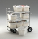 Charnstrom M297 Tote Cart With 9 Totes