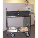 Charnstrom M320 Mail Room and Office Carts Solid 52