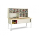 Charnstrom P910L Mail Room Console and Office Organizer 72