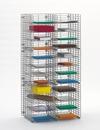 Charnstrom W437 Wire Mail Sorter, 24 Pockets, Legal Depth Shelf
