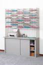 Charnstrom W448 Triple Organizer, 40 Pockets, Legal Depth Shelf