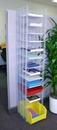 Charnstrom W860 12 Pocket Free Standing Organizer - Legal Depth