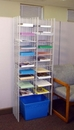 Charnstrom W864 22 Pocket Free Standing Organizer - Legal Depth