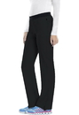 Cherokee 1124AP Low Rise Slim Pull-On Pant, Petite Antimicrobial, Inseam length 28 1/2