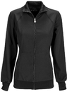 Cherokee 2391A Zip Front Warm-Up Jacket, 95% Poly 5% Spandex , Infinity