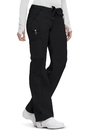 Code Happy 46000AB Low Rise Straight Leg Drawstring Pant, 63% Polyester, 34% Cotton 3% Spandex, Bliss w/ Certainty Plus