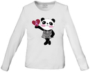 Cherokee 4709 Little Miss Panda Long Sleeve Knit Tee