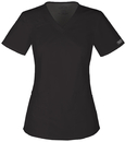 Cherokee 4710 V-Neck Top, 55% Cotton/ 42% Polyester, / 3% Spandex, WW Core Stretch