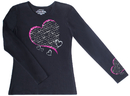 Cherokee 4819 Healing Heart Long Sleeve Knit Tee