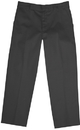 Classroom Uniforms 50362S Boys Slim Adj. Waist Flat Front Pant