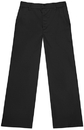 Classroom Uniforms 51944 Juniors Flat Front Trouser Pant