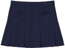 Classroom Uniforms 55982AZ Girls Stretch Bow Pocket Scooter, 53% Cotton / 44% Polyester / 3% Spandex Twill