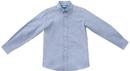 Classroom Uniforms 57673 Classroom Boys Long Sleeve Husky Oxford, 60% Cotton / 40% Poly Oxford