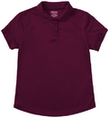 Classroom Uniforms 58634 Classroom Junior S/S Polo Moisture Wicking, 100% Polyester Performance Knit