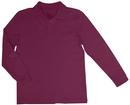Classroom Uniforms 58732 Youth Unisex Long Sleeve Interlock Polo